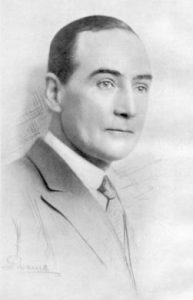 Philip Walsingham Sergeant from A Century of British Chess from a photograph by F.A. Swaine Ltd. (1934)