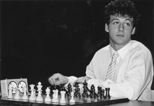 IM David Norwood at the 1988 Oakham Young Masters. Photo by Steven Stepak