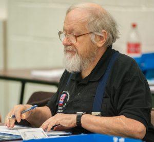 David Welch, photograph by John Upham