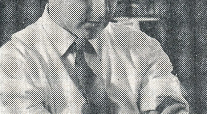 Death Anniversary of FM Peter Clarke (18-iii-1933 11-xii-2014)