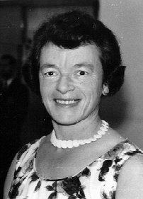Death Anniversary of Nancy Elder MBE (25-v-1915 04-iii-1981)
