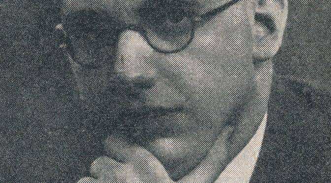 Death Anniversary of Gerald Abrahams (15-iv-1907 15-iii-1980)