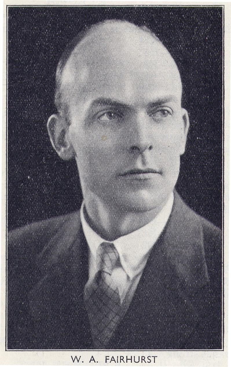 IM William Fairhurst CBE