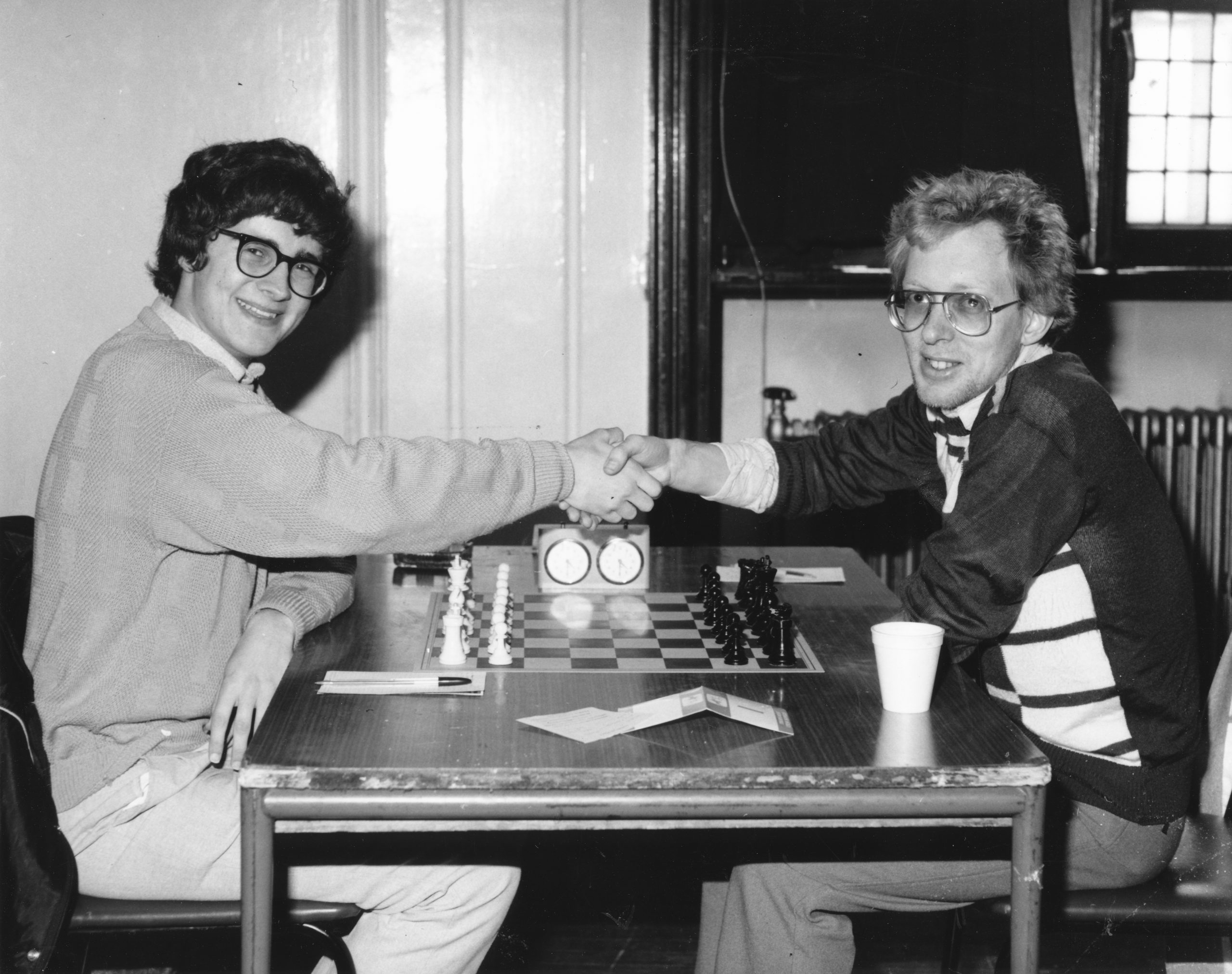 Philip Rossiter (left) and Murray Chandler