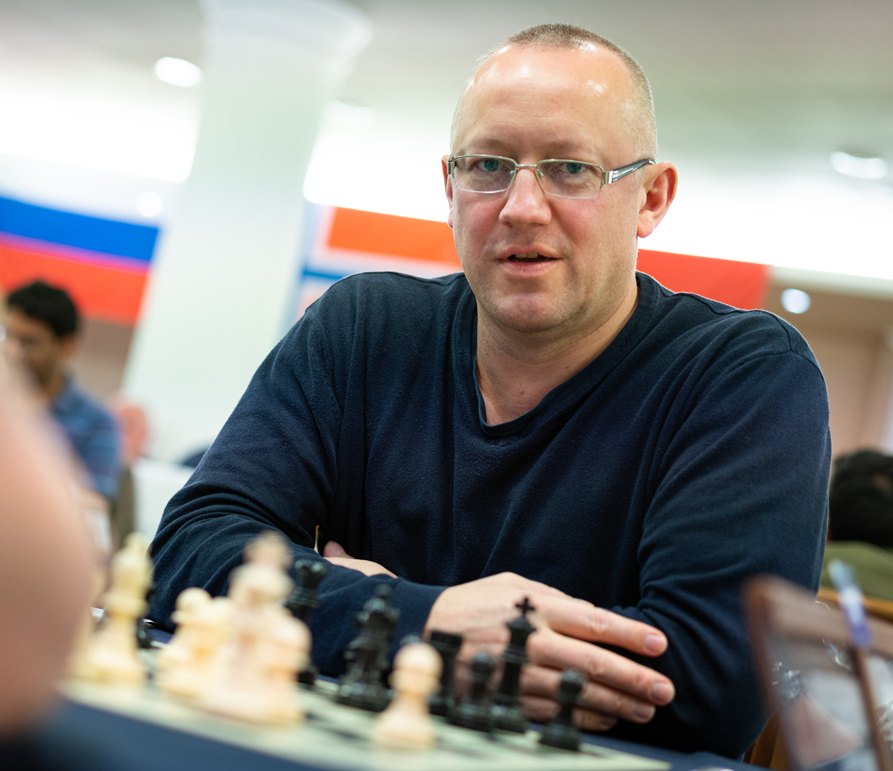 FM Laurence Webb at Sunway Sitges International Chess Festival courtesy of Lennart Ootes