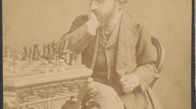 Death Anniversary of Johannes Zukertort (07-ix-1842 20-vi-1888)