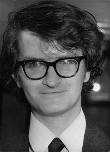 Andrew Whiteley circa 1965 ?, photographer is Colin Davey of Camera Press