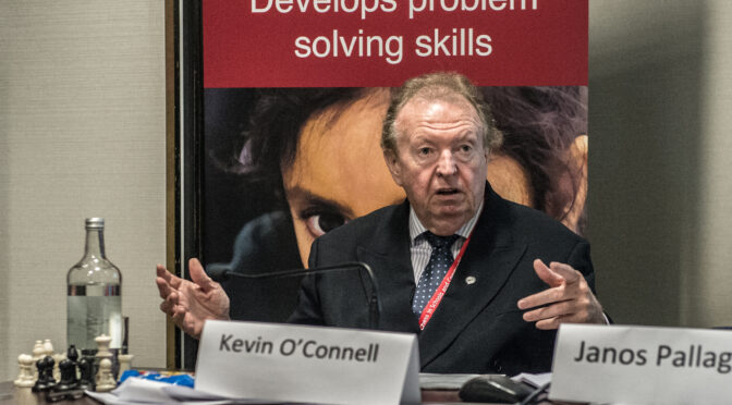 Birthday of FM Kevin John O'Connell (28-viii-1949)
