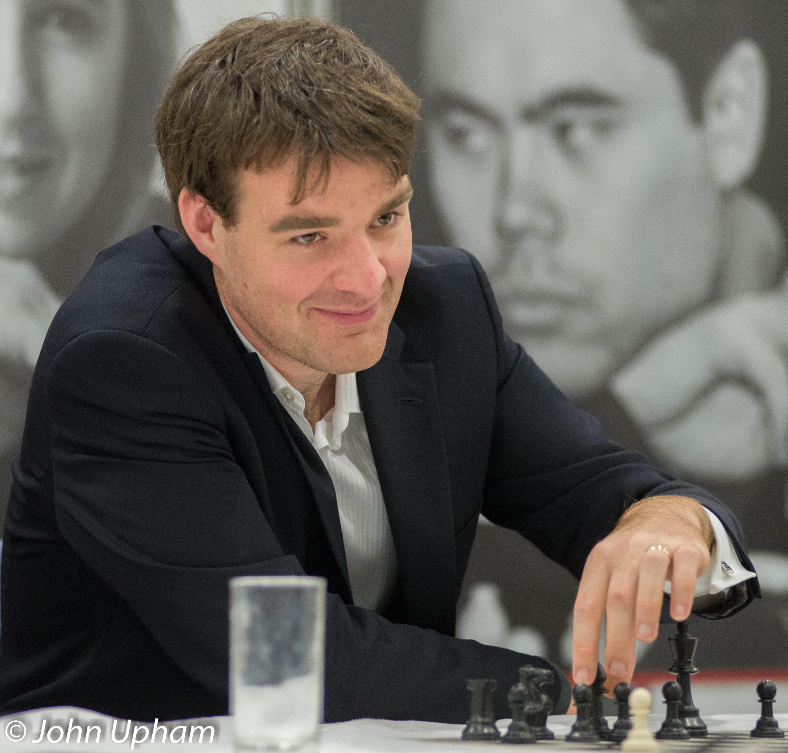 GM Gawain Jones at the 2013 London Chess Classic courtesy of John Upham Photography