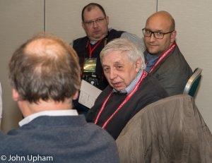 Richard James at the 2015 London Chess Conference. Courtesy of John Upham Photography